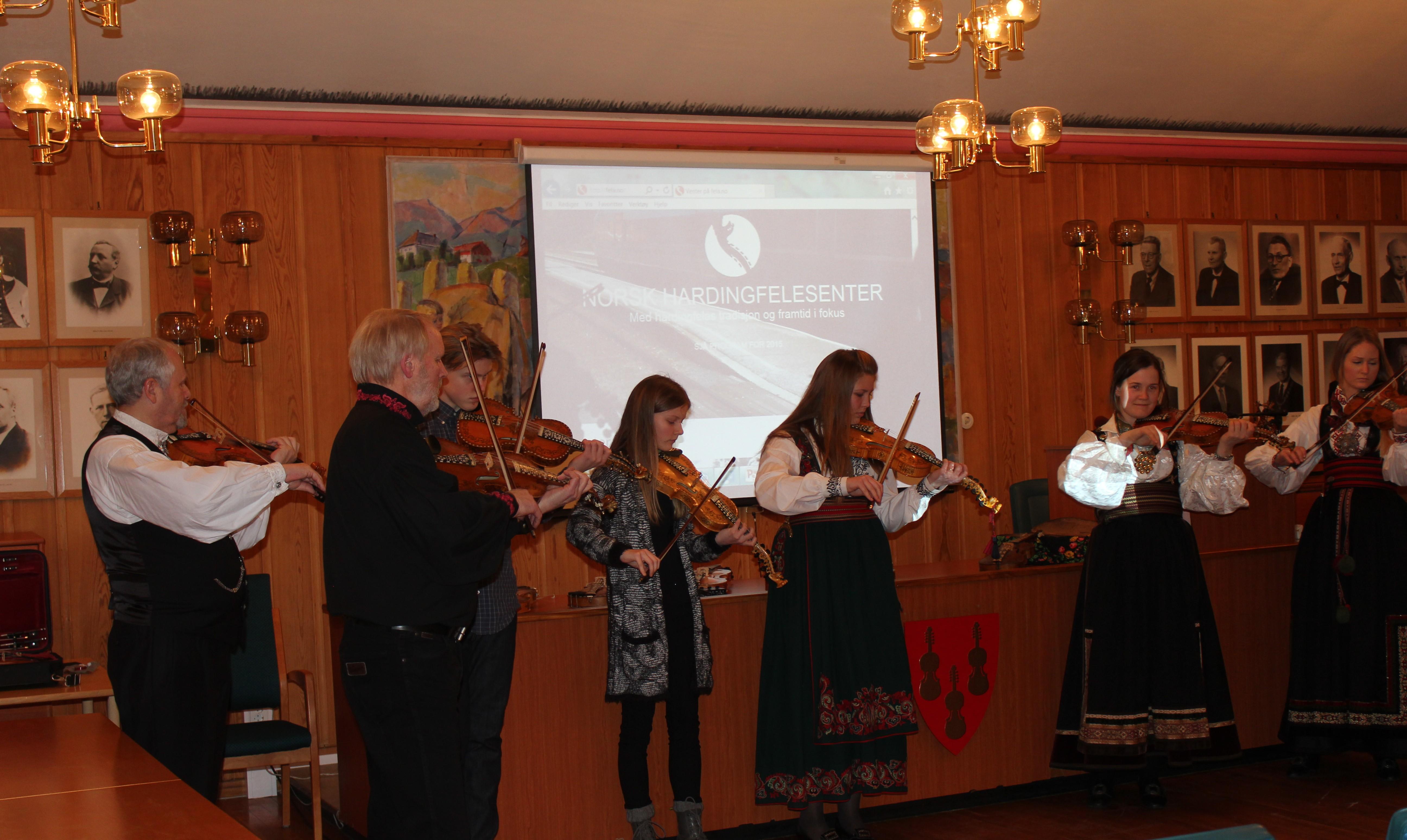 Lansering årsprogram for Norsk Hardingfelesenter 2017